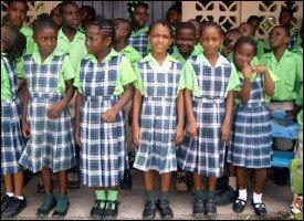 Newtown Ground Primary School Students