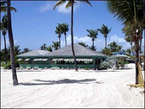 The Beach Bar at Nisbet Plantation Beach Club