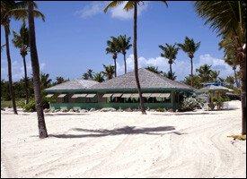 The Beach and Beach Bar at Nisbet Plantaion