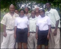Nisbet Staff at Curtain Bluff Resort