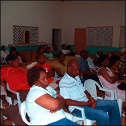 Audience At Butlers Town Hall Meeting