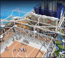 Artists' Rendition Of Sports Complex