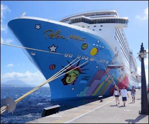 Norwegian Cruise Ship Breakaway - St. Kitts
