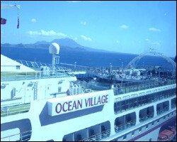 Ocean Village Moored At Port Zante