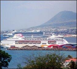 Ocean Village Cruise Ship - Port Zante, St. Kitts