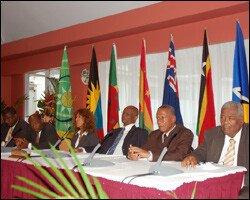 OECS Meeting In B.V.I. - May 2009