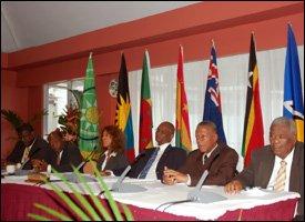 OECS Meeting In BVI - May 2009