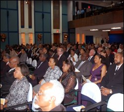 Audience At OECS Economic Union Treaty Signing