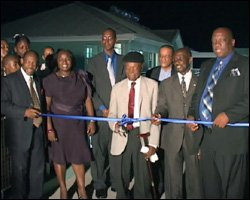 Opening of Saddlers Secondary School