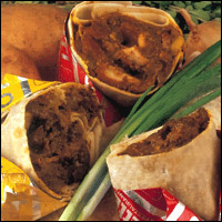 Beef Roti Recipe - Oualie Beach Resort - Nevis