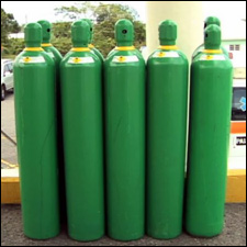 Cylinders of Oxygen Produced In Nevis