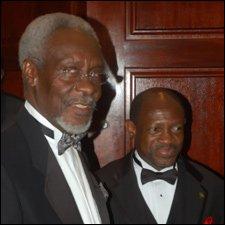 P.J. Patterson with PM Douglas