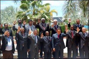 International Leaders At PetroCaribe Summit