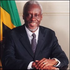 Former Jamaican Prime Minister - P.J. Patterson