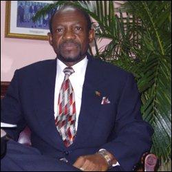 St. Kitts - Nevis' PM - Denzil Douglas