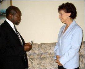 PM Douglas and Ambassador Gonzalez