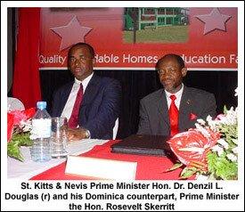 PM Douglas and PM Skerritt