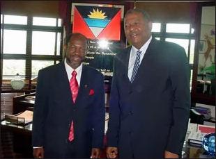 Prime Minister Douglas and Prime Minister Spencer