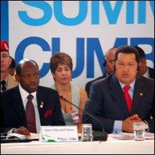 PM Douglas With Dictator Castro