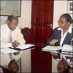 St. Kitts - Nevis PM Douglas