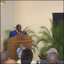 PM Douglas Speaks At Rex Nettleford Ceremony