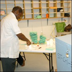 PM Douglas Casts Ballot in 2010 Elections