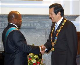 PM Douglas Congratulates President Ma Ying-Jeou