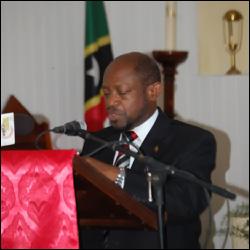 PM Douglas Honours Simeon Daniel
