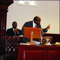 St. Kitts PM Douglas Speaks In National Assembly