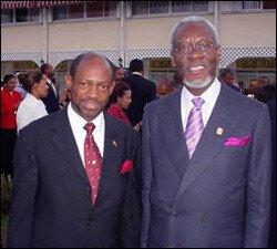 PM Douglas With P.J. Patterson