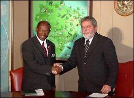 PM Douglas and President Lula