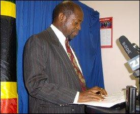 PM Douglas At Press Conference