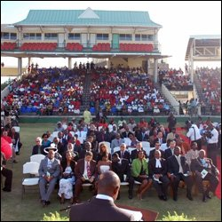 PM Douglas Speaking At Swearing In Ceremony