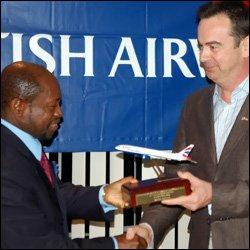 PM Douglas With BA Representative Ricahrd Tams