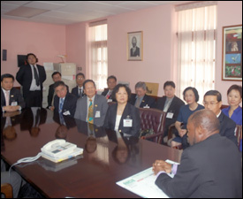 PM Douglas Meets With Taiwanese Trade Delegation