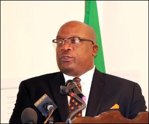 St. Kitts - Nevis PM - Dr. Timothy Harris