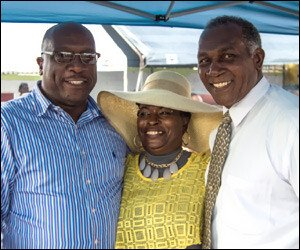 PM Harris and Premier Amory