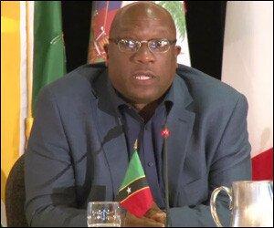 St. Kitts - Nevis' PM - Timothy Harris