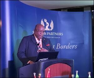 PM Harris Speaking In Dubai