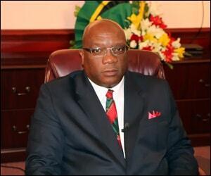 Prime Minister Harris - St. Kitts - Nevis