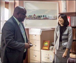 PM Harris with CEO Yin Jin