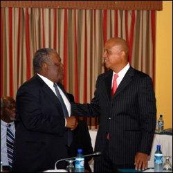 PM Ingraham and PM Barrow