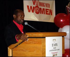 PM Douglas Speaks To Women