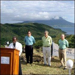 PM Douglas Speaks At Christophe Harbour Ground Breaking