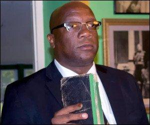 St. Kitts - Nevis PM - Timothy Harris