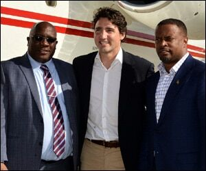 PM Trudeau In St. Kitts