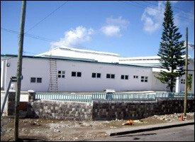 St. Kitts' New Hospital - East Section