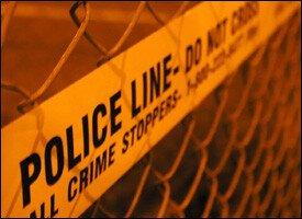 St. Kitts - Nevis Police Cordon