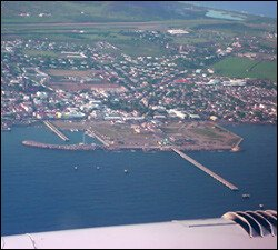Port Zante and Basseterre - Aerial View