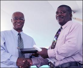 Premier Parry and Principal Elliott